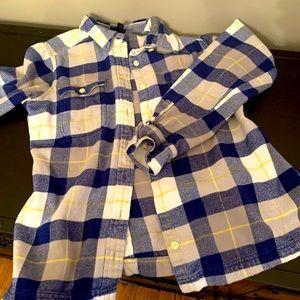 Pantagonia flannel shirt sz 10